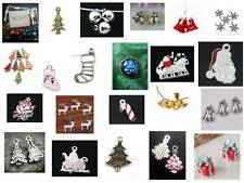 * ASSORTED PACKS OF CHRISTMAS THEMED PENDANTS AND CHARMS
