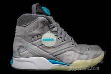 Reebok X SOLEBOX TWILIGHT ZONE PUMP GREY BLACK STEEL BLUE Sz 7-11.5 V54097