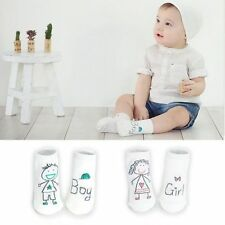 Newborn Kids Girl Boy Toddler Socks Cotton 0-4Y Baby Cartoon