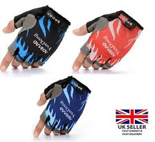 Cycling gloves Half Finger Gloves Bike Riding Mitts BMX MTB racing off road