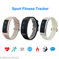 Smart Watch Bracelet Band Bluetooth Pedometer Heart Rate Monitor For Android IOS
