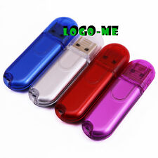 10PCS Plastic USB Flash Pen Drive Memory Thumb Stick 1MB 1GB 2GB 4GB 8GB 16GB