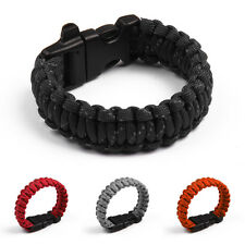 Bracelet with Whistle Reflective Rope Gear Kits Outdoor Rope Paracord Survival