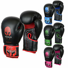 VERSU Boxing Training Gloves MMA Sparring Mitts Cage Fight Muay Thai Martial Art