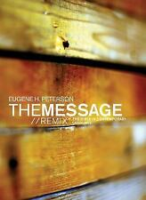 The Message//REMIX Paperback Wood The Bible in Contemporary Language, New