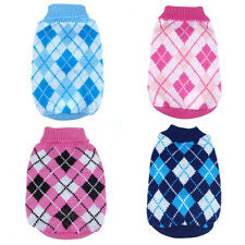 Puppy Pet Dog Warm Knit Sweater Coat Apparel Clothes For Small Medium Large Dogs