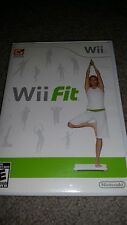 Wii Fit Game With Case Excellent Wii