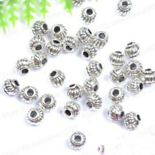 5*4MM Tibetan Charms Spacer Beads Jewelry Findings Making DIY Crafts Fashion