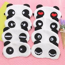 Travel Cute Animal Face Eye Mask Panda Sleep Cover Lightproof Blindfold