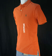 NWT Polo Ralph Lauren Men's Mesh Polo Shirt  M / Orange