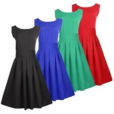 Women's Sexy Party Dress Ball Gown Formal Bridesmaid Cocktail Pleated Mini Dress