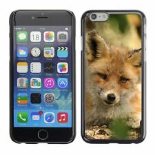 Hard Phone Case Cover Skin For Apple iPhone Fox Animal Pattern
