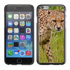 Hard Phone Case Cover Skin For Apple iPhone Cheetah Animal Pattern