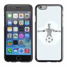 Hard Phone Case Cover Skin For Apple iPhone Football Player Grunge Design