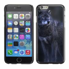 Hard Phone Case Cover Skin For Apple iPhone Wolf Animal Pattern