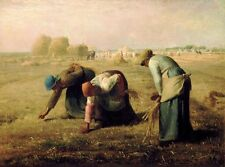 Classic French Realism Art Print: The Gleaners by Jean Francois Millet