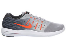NEW MENS NIKE LUNARSTELOS RUNNING SHOES TRAINERS WOLF GREY / ANTHRACITE / WHITE