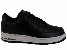 NEW MENS NIKE AIR FORCE 1 LV8 BASKETBALL SHOES TRAINERS BLACK / WHITE / BLACK