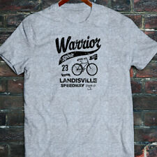 BICYCLE WARRIOR SPIRIT BIKE CYCLING ROAD MOUNTAIN Mens Gray T-Shirt