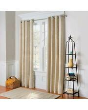 """Country Gingham Buffalo Checks Thermal Grommet Curtains Drapes 4 Colors 84"""" L"""