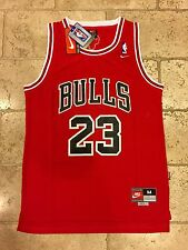 Nike Chicago Bulls Michael Jordan Throwback NBA Jersey Men's MEDIUM Retro Rare