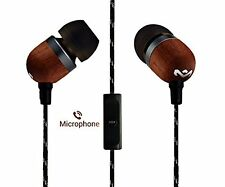 NEW House of Marley Smile Jamaica EM-JE041-SB In-Ear Headphones  with Mic 701