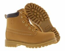 Fila Edgewater 12 Tan Hiking Boots Faux Suede Men New In Box