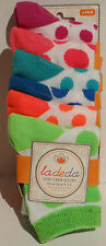 Girls New Set of 6 Low Crew Socks