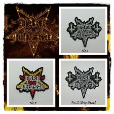 Dark Funeral Patch Embroidered Sew On Iron Black Metal Rock Band Free Ship DIY