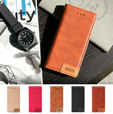 Luxury Vintage Wallet Flip PU Leather Phone Case Cover For iPhone 7/ 7 Plus