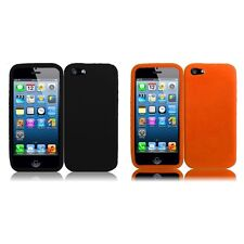 For Apple iPhone 5/5S/SE Silicone Skin Soft Rubber Case Phone Cover