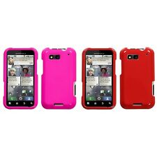For Motorola Defy MB525 Rigid Plastic Hard Snap-On Case Phone Cover