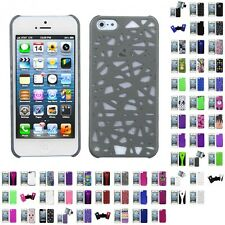 For Apple iPhone 5S/5 Back Protector Case Cover With Stand Kickstand Accessory