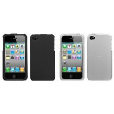 For Apple iPhone 4/4S Snap-On Hard Case Phone Cover Skin Accessory