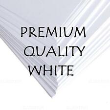 PREMIER A3 A4 A5 WHITE CRAFT DECOUPAGE QUALITY CARD BLANKS PAPER PRINTER 300gsm
