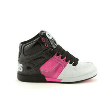 $75 NEW Osiris Nyc 83 Slim Skate Hi Tops Shoes 4.0  M White/Pink/Black