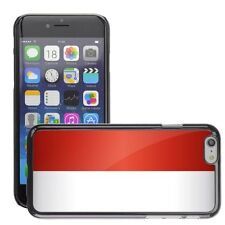 Hard Phone Case Cover Skin For Apple iPhone indonesia national flag country flag