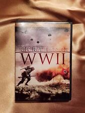 Lot of 2 WWII DVDs AUTHENTIC FOOTAGE MORE THAN 6 HOURS BIG BATTLES OF WWII