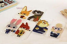 Zootopia Cute TPU Cases Cells Covers Skins For iPhone 6/6S Plus iPhone7 Plus
