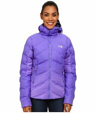 "NEW $400 THE NORTH FACE WOMENS  ""FUSEFORM™ DOT MATRIX HOODED"" DOWN JACKET"