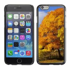 Hard Phone Case Cover Skin For Apple iPhone Yellow leaves cover big tree