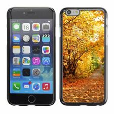 Hard Phone Case Cover Skin For Apple iPhone Autumn forest alley