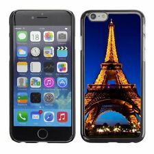 Hard Phone Case Cover Skin For Apple iPhone Bright lights of Eiffel Tower