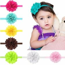 Fashion Hollow Solid Headbands Soft Flowers Hair Band for girls