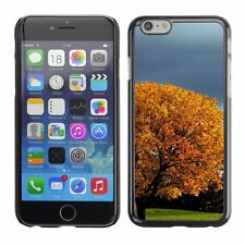 Hard Phone Case Cover Skin For Apple iPhone Lovely tree in autumn park