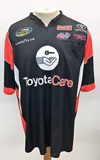 NASCAR Race Used Team Issued Crew Shirt Kyle Busch TOYOTA Variable Sizes KBM