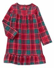 NWT GYMBOREE Plaid Nightgown 4,5/6,7/8,10/12 Pajama Girls Christmas Holiday 2016