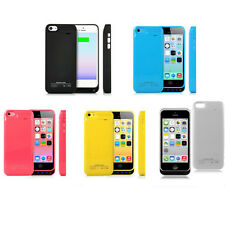 iPhone 5C External Battery Backup Charger Power Case - 2200mAh