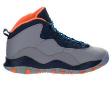 Kids Air Jordan Retro X 10 Bobcats GS Wolf Grey Powder Blue Slate 310806-026