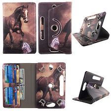 Folio Fold Cover for Dell Venue 8 Pro - Syn Leather Case/360° Stand/Card Pockets